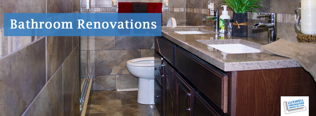 Bathroom renovations contractor Windsor